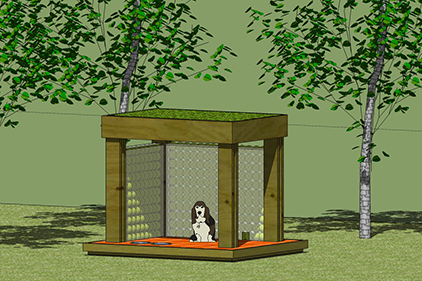 3D Model Doghouse
